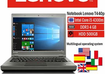 Notebook ricondizionato Lenovo T440p INTEL i5 4300M 4GB 500GB