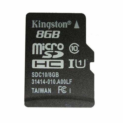 scheda micro SD 8gb